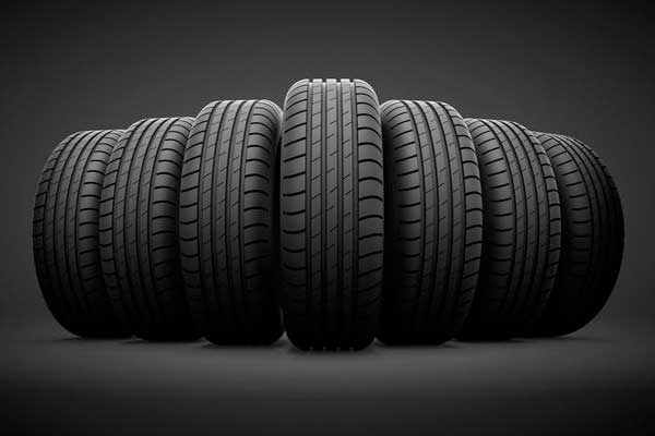 Used tires wheels batteries for sale
